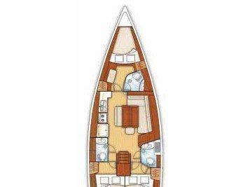 Oceanis 43 (Alcor) Plan image - 3