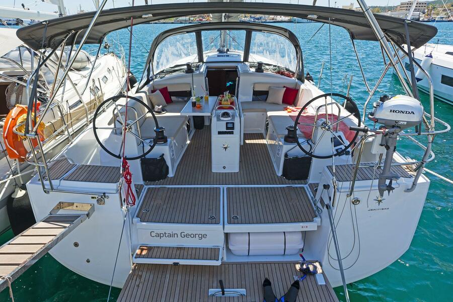 Sun Odyssey 490 (CAPTAIN GEORGE)  - 11