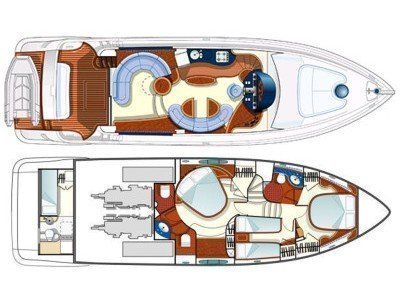 Azimut 55 Evolution (Lady Pi) Plan image - 24