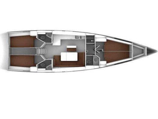 Bavaria 46 Cruiser (Margarita Bavaria 46 Cruiser) Plan image - 1
