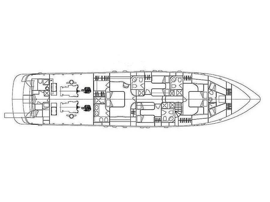 Maiora 27m (Mirage) Plan image - 2