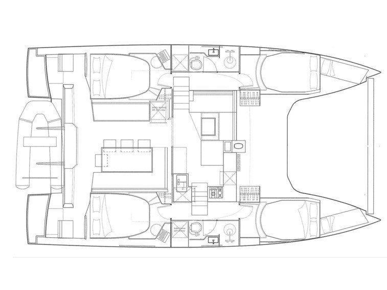 Nautitech Open 40 (MOONLIGHT ) Plan image - 21