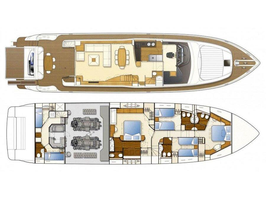 Ferretti 830 (Cipriana) Plan image - 2