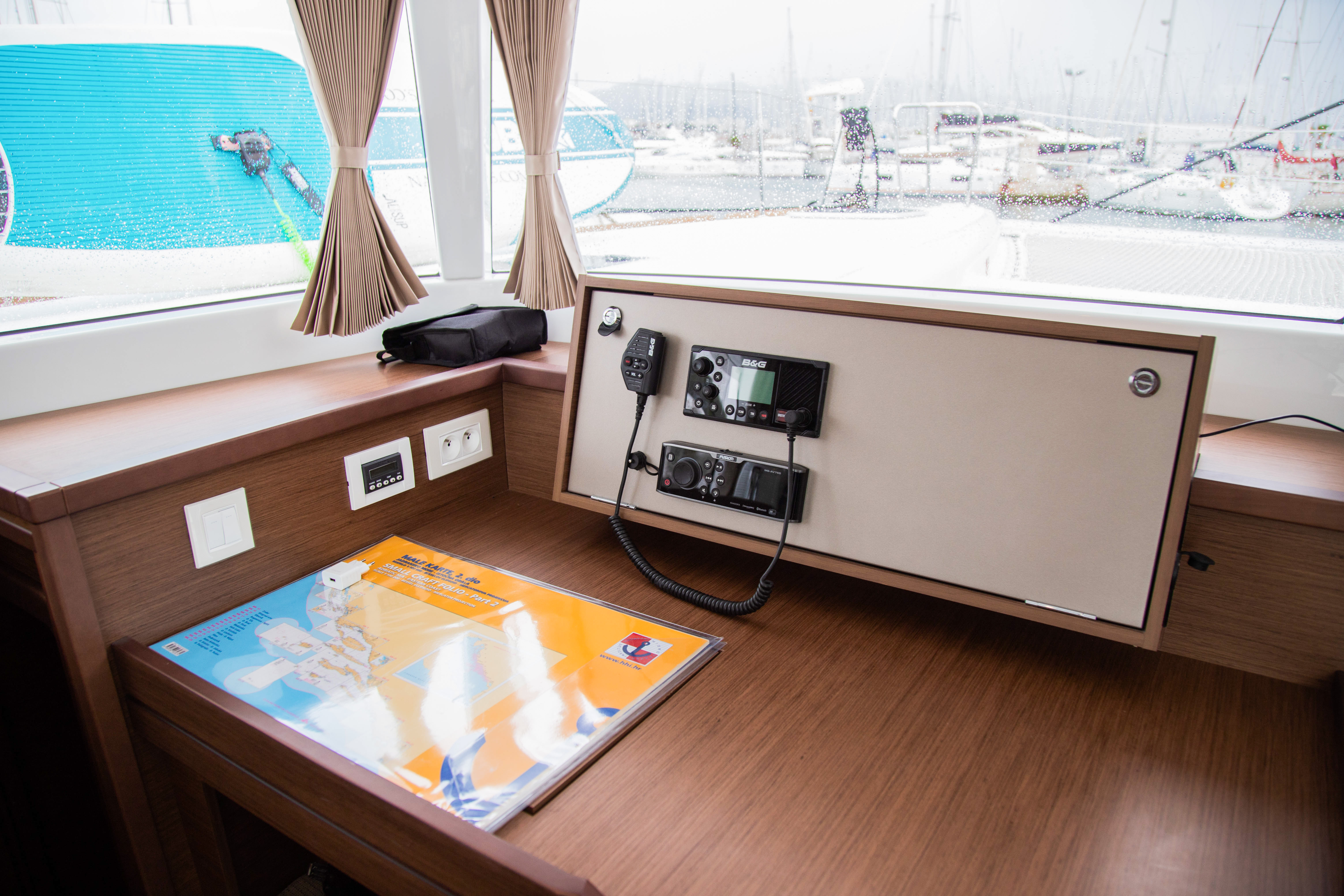 Lagoon 450 Sport (2019) equipped with generator, A (VJERA)  - 4