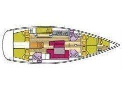Oceanis 50 Family (Spica (ESP)) Plan image - 9