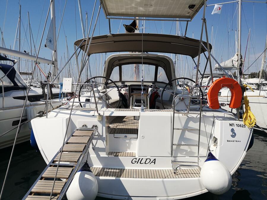 Oceanis 50 (Gilda (A/C - Generator - 12 pax))  - 10
