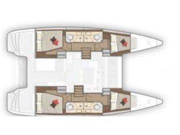 Lagoon 40 (Agorà) Plan image - 1