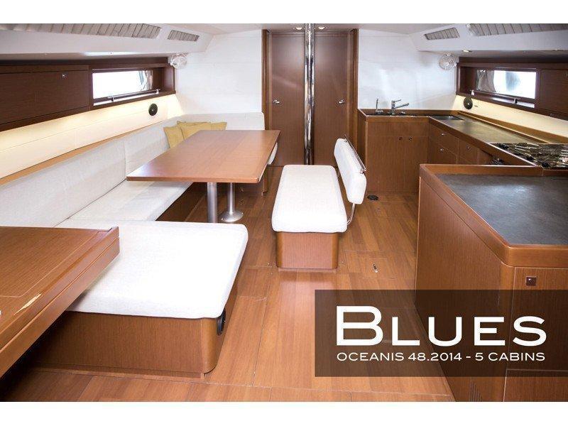 Oceanis 48 (5 cabins) (Blues) Interior image - 1