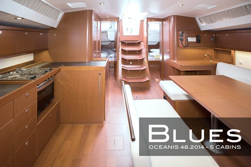 Oceanis 48 (5 cabins) (Blues)  - 10