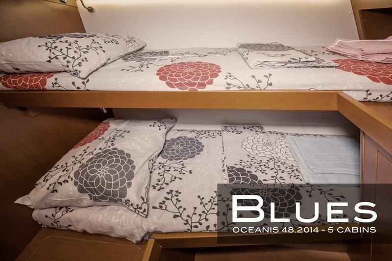 Oceanis 48 (5 cabins) (Blues)  - 9