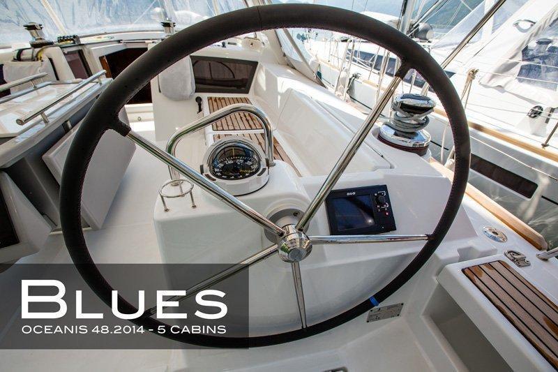 Oceanis 48 (5 cabins) (Blues)  - 14