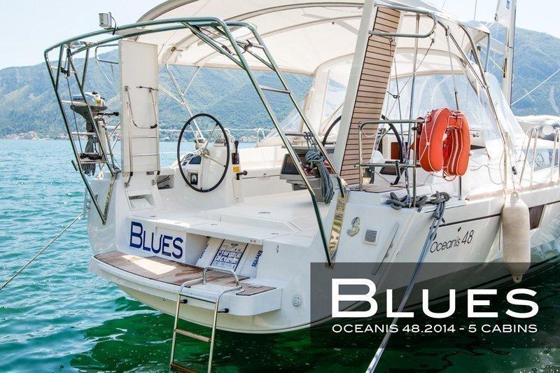 Oceanis 48 (5 cabins) (Blues)  - 15