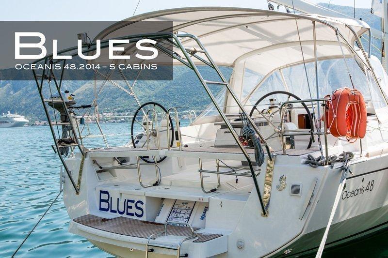 Oceanis 48 (5 cabins) (Blues)  - 6