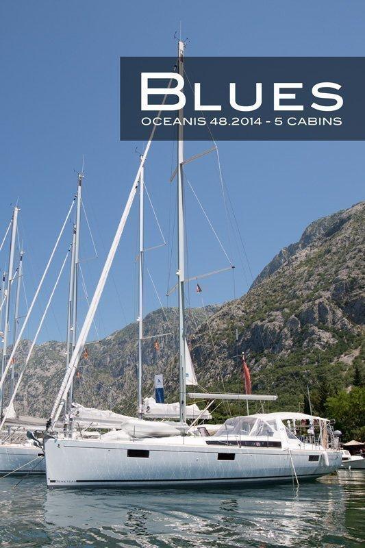 Oceanis 48 (5 cabins) (Blues)  - 2