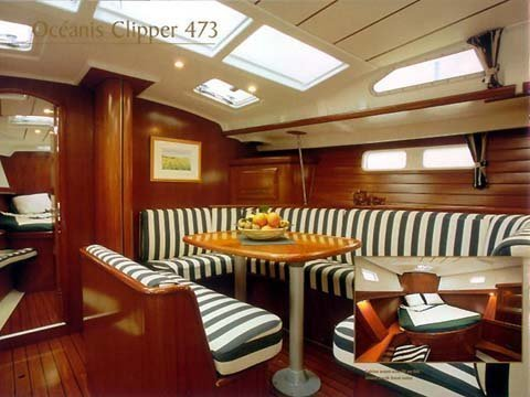 Oceanis 473 (Lullaby) Interior image - 15