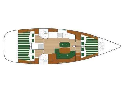Oceanis 473 (Lullaby) Plan image - 12