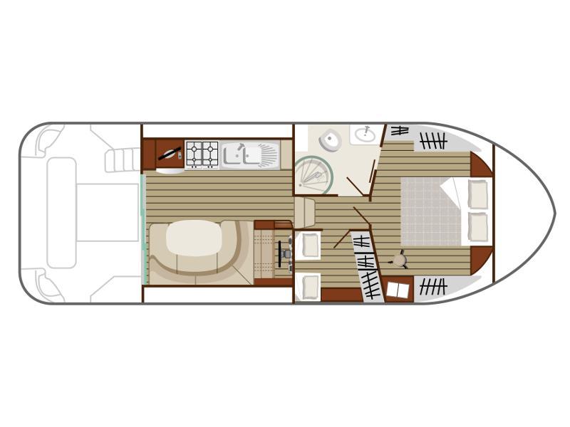 Estivale Quattro S (SAINT LOUIS) Plan image - 1