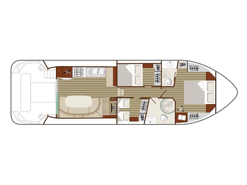 Estivale Sixto (LE CONSTAN) Plan image - 1