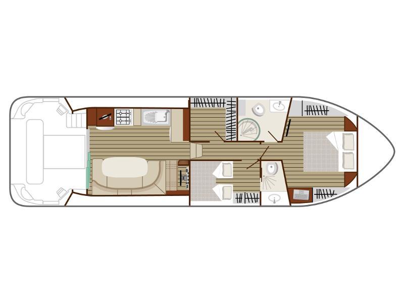 Estivale Sixto Prestige C (AIGUES-MOR) Plan image - 1