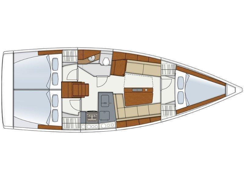 Hanse 345 (SunShine) Plan image - 5