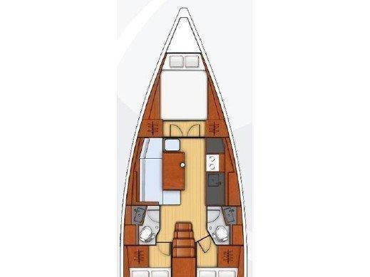 Oceanis 38.1 (LUCE) Plan image - 2