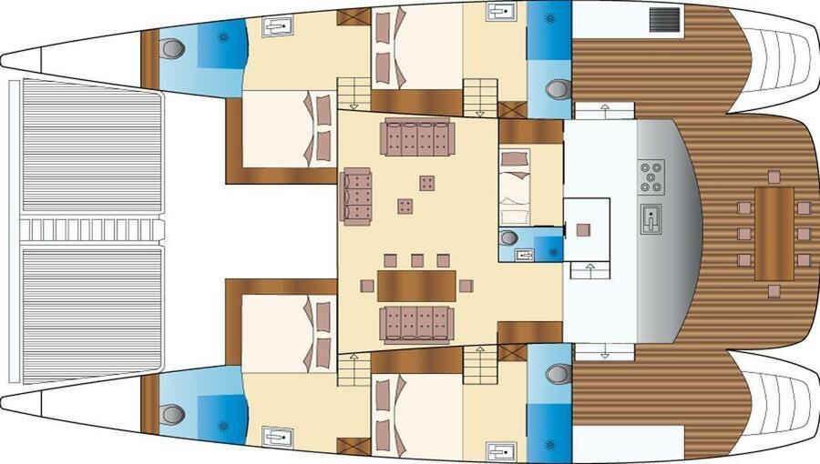 Caribe 69 (Mystique) Plan image - 15