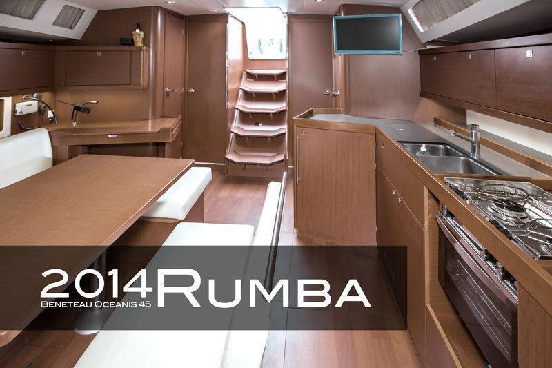 Oceanis 45 (3 cabins) (Rumba)  - 14