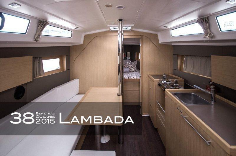 Oceanis 38 (3 cabins) (Lambada)  - 2