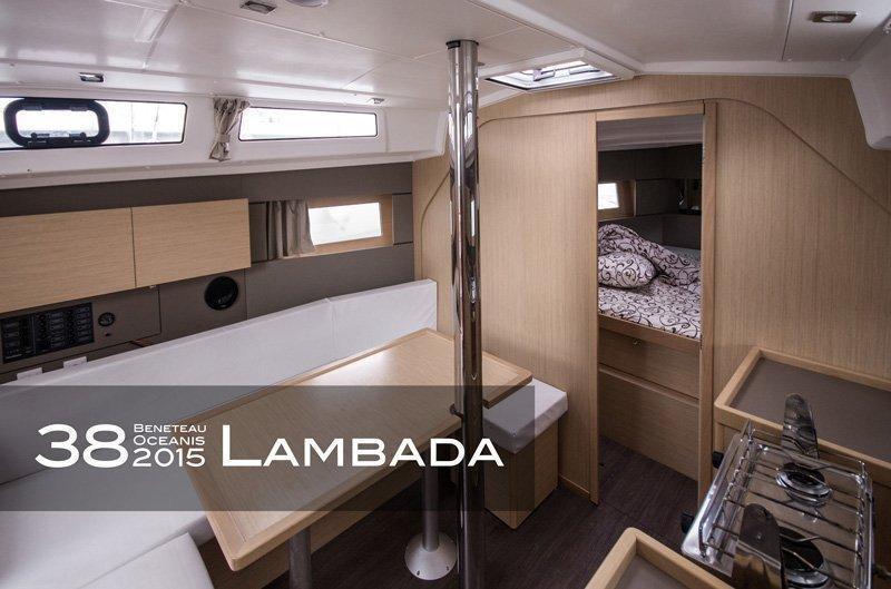 Oceanis 38 (3 cabins) (Lambada)  - 8