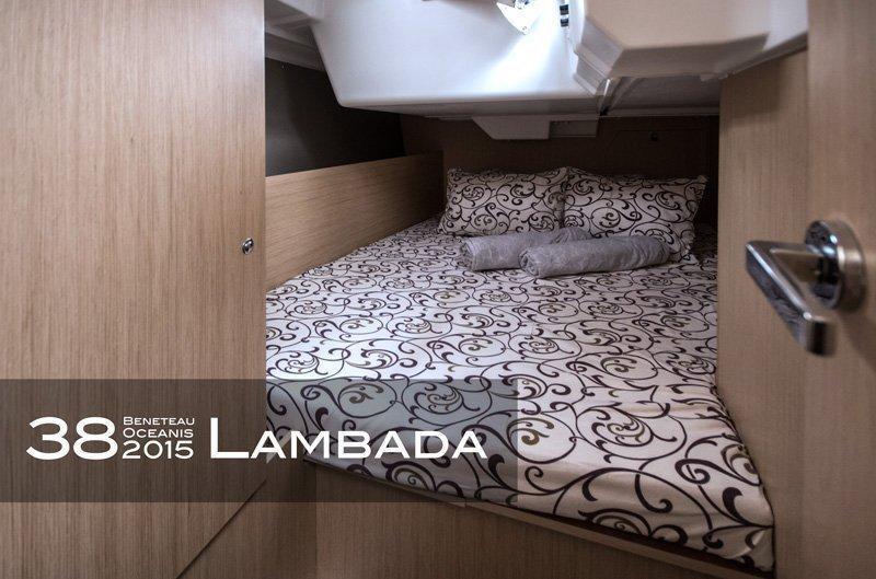 Oceanis 38 (3 cabins) (Lambada)  - 4