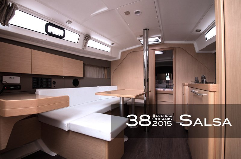 Oceanis 38 (3 cabins) (Salsa)  - 1