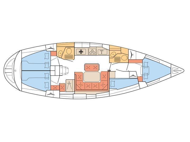 Bavaria 42 (B42-ATH) Plan image - 2