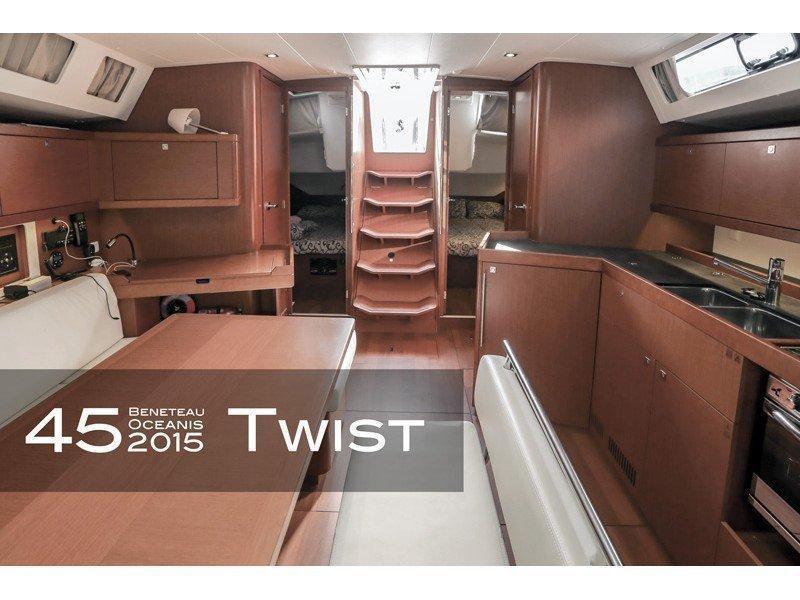 Oceanis 45 (4 cabs) (Twist) Interior image - 13