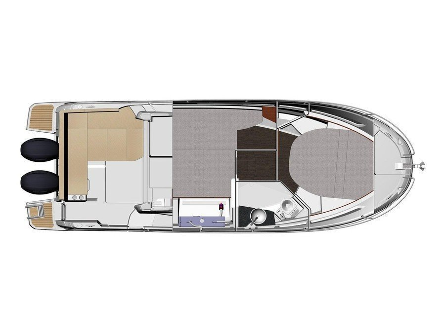 Merry Fisher 895 (Jeanneau Merry Fisher 895) Plan image - 2
