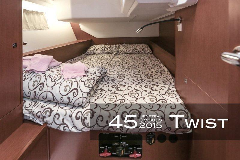 Oceanis 45 (4 cabs) (Twist)  - 9