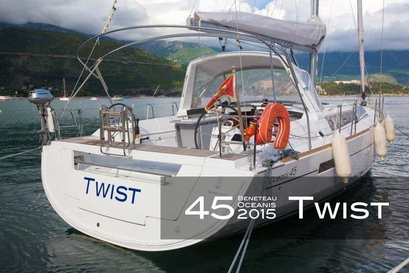 Oceanis 45 (4 cabs) (Twist)  - 11