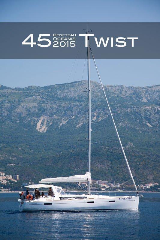 Oceanis 45 (4 cabs) (Twist)  - 12