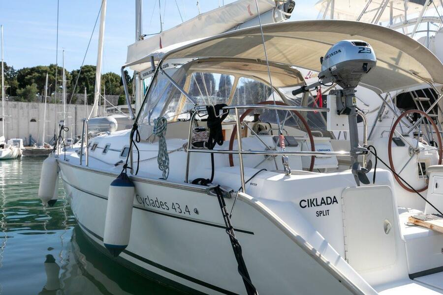 Cyclades 43.4 (2007) new full batten mainsail and (CIKLADA)  - 12