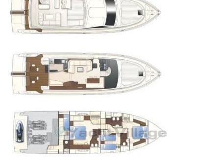 Ferretti 630 (AMY) Plan image - 13