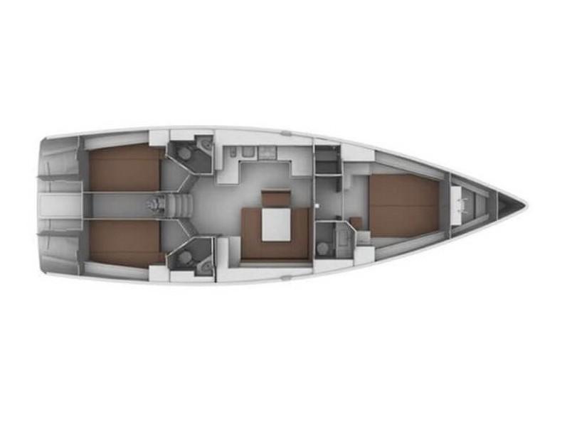 Bavaria Cruiser 45 OW. (Takeo) Plan image - 7