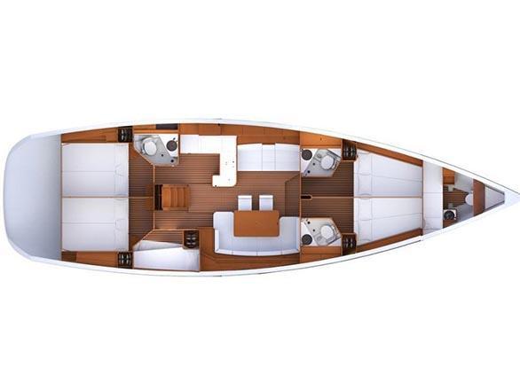 Jeanneau 53 (Madeleine) Plan image - 5