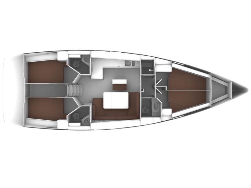 Bavaria Cruiser 46 (Rozerina) Plan image - 6