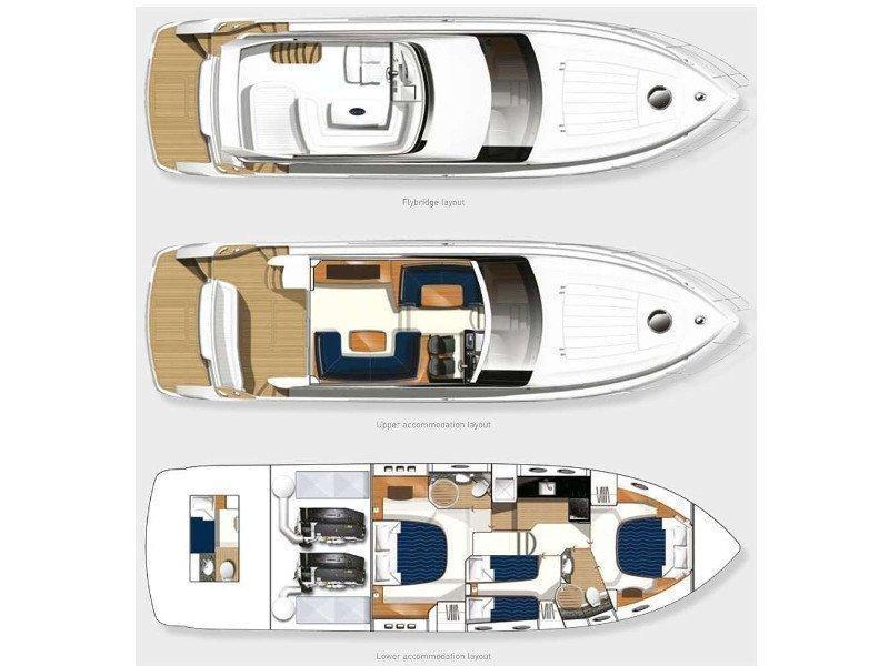 Princess 54 (Beluga) Plan image - 8
