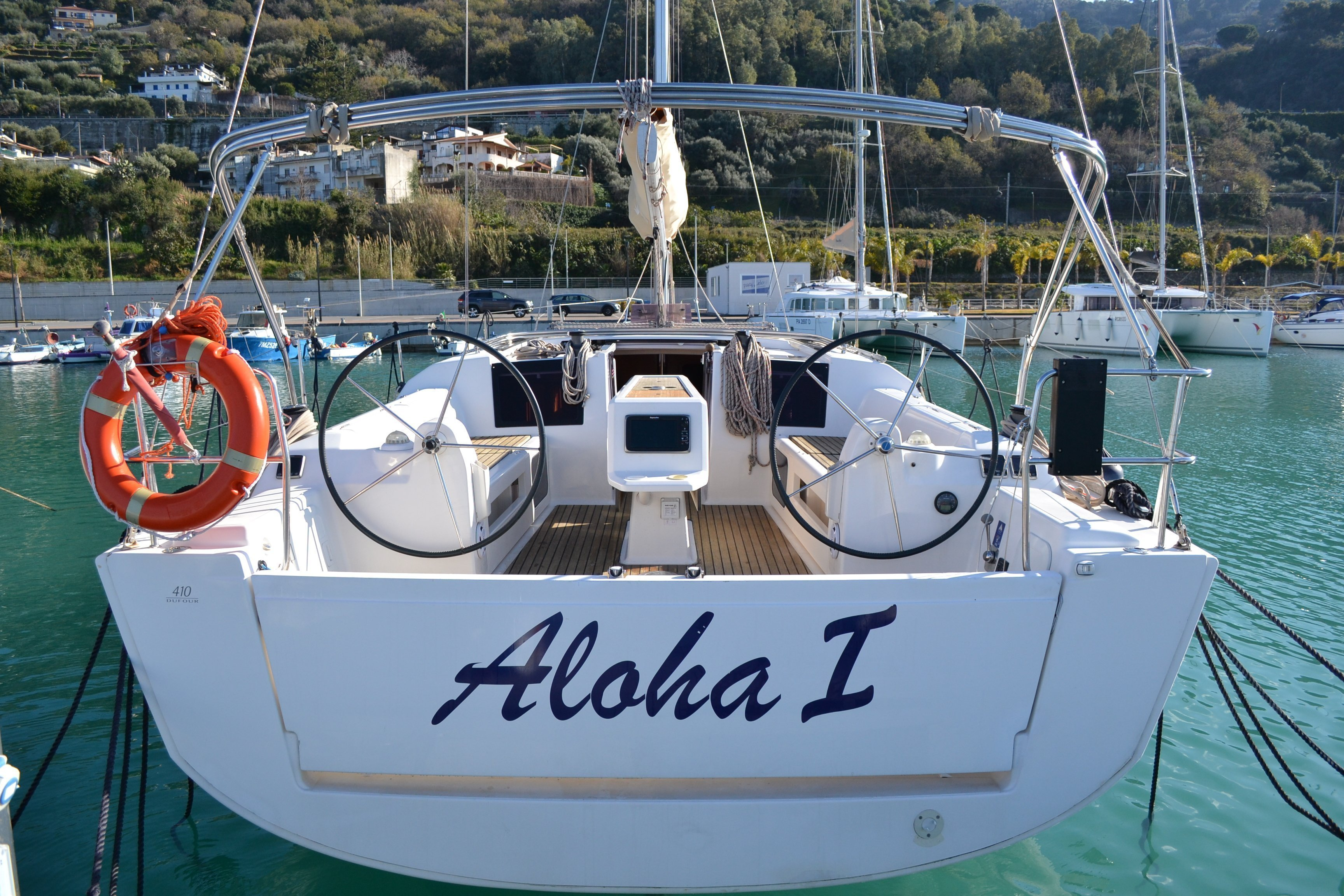 Dufour 410 Grand Large (Aloha 1)  - 8
