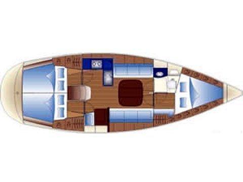 Bavaria Cruiser 36 (BURA) Plan image - 14