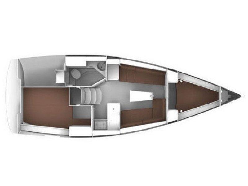 Bavaria Cruiser 33 (Adria Breeze) Plan image - 3