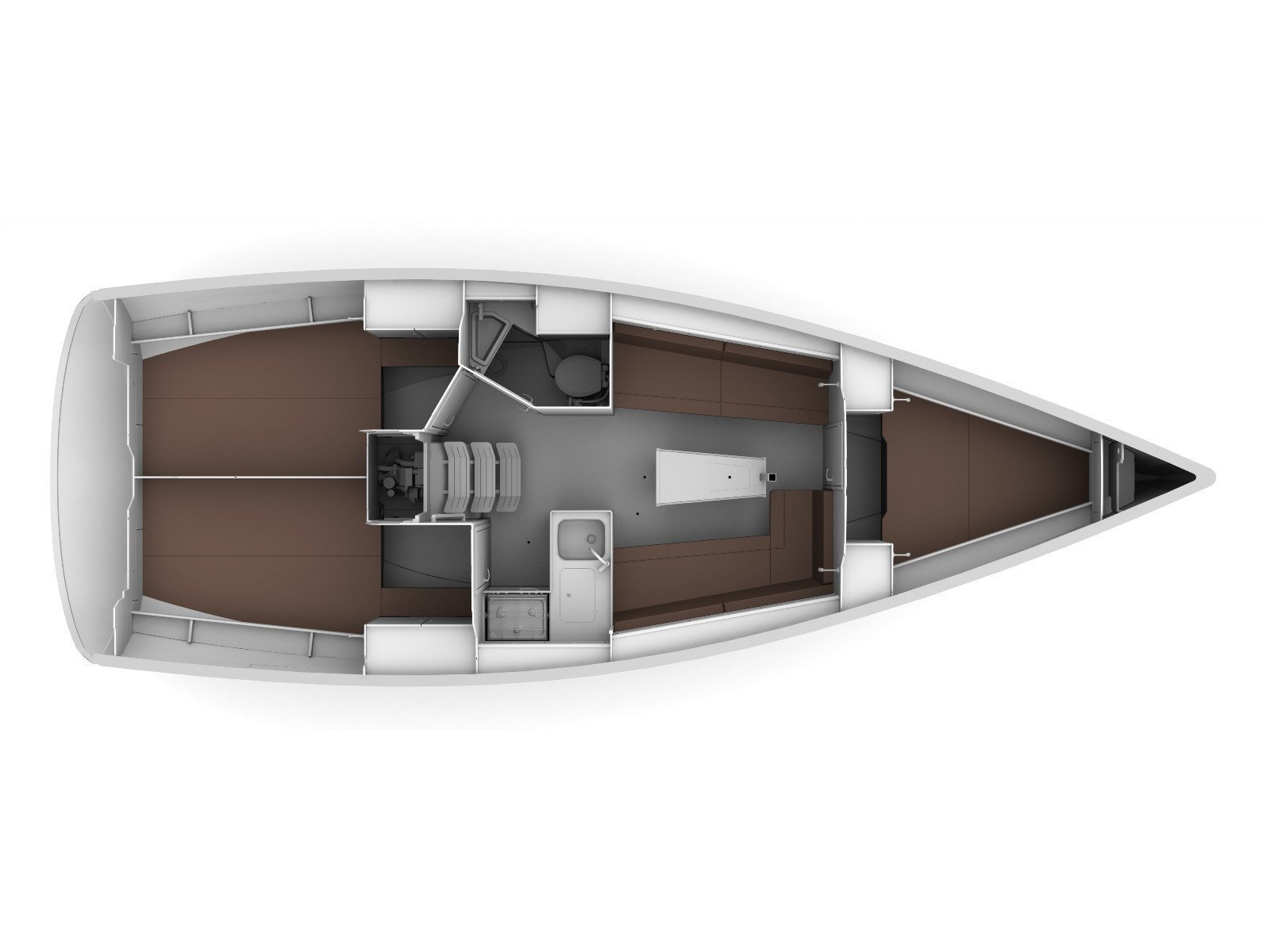 Bavaria 34 Cruiser (Joker) Plan image - 2