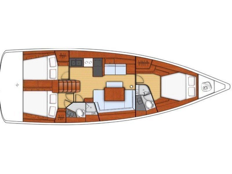 Oceanis 45 (Monte Cristo) Plan image - 5