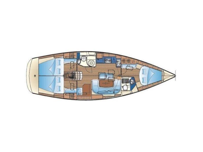 Bavaria Cruiser 40 (Vessy ) Plan image - 5
