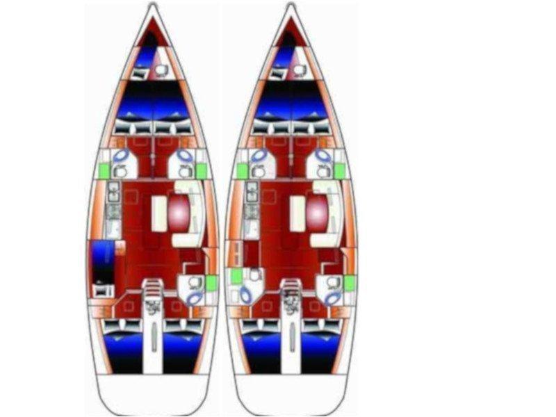 Cyclades 50.5 (Sea Walks) Plan image - 1